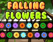 Падающие цветы