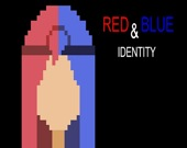 Красный и синий идентификаторы