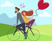 Пазл влюбленная пара