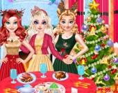 Подготовка к рождественской вечеринке