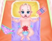 Малышка Тейлор в роли няни