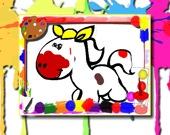 Раскраска: Лошади