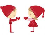Валентинки: Найдите разницу