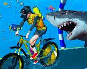 Подводные гонки на велосипедах