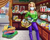 Мария отправляется за покупками: Коронавирус