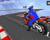 Мотоциклетные трюки в небе 2020