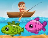 Мальчик рыбак