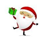 Санта Клаус - испытание с подарками