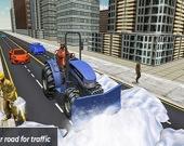 Симулятор вождения снегоуборочной машины 2019