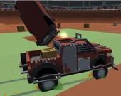 Разрушительные аварии машинок из конструктора v1