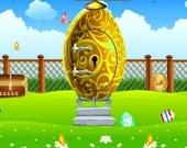 Побег из пасхального яйца