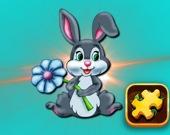 Паззл: Кролики