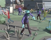 Апокалипсис в городе: толпа зомби