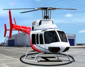 Симулятор парков и гонок на вертолете