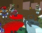 Блочные войны: Нашествие зомби онлайн