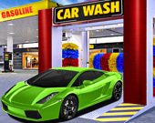Симулятор автомобиля: Автомойка и заправка