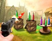 Стрельба по бутылкам 3D