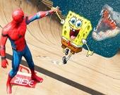 Губка Боб - Человек-паук