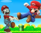 Супер Марио. Стрельба по зомби