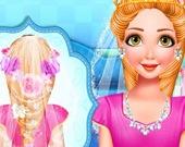 Свадебная прическа принцессы