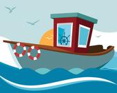 Пазл: Лодки