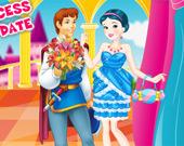 Романтическое свидание принцессы Белоснежки
