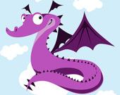 Разноцветные драконы