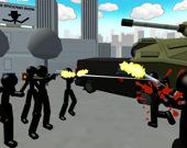 Стикмен: Городская стрельба 3D