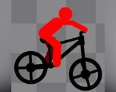Стикман - велосипедист