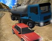 Экстремальное вождение грузовика