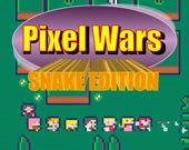 Пиксельные войны: змейка