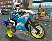 Симулятор спортивного мотоцикла