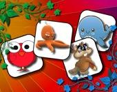 Забавные Животные: игра на память
