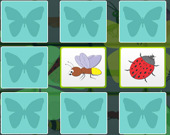 Игра на память для детей: Насекомые