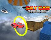 Автомобильные трюки в небесах 3D