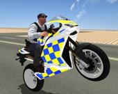 Симулятор супер трюков на полицейском мотоцикле 3D
