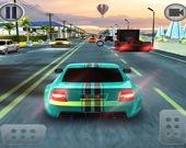 Дорожные гонки: Преследование автомобиля на шоссе