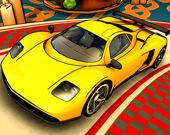 Гонки игрушечных автомобилей