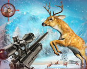 Охота на оленей: Снайперская стрельба