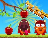 Брось яблоко в рот