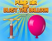 Прокачать воздух и взорвать воздушный шар