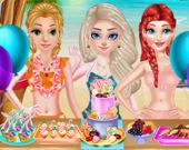 Принцессы: Модные летние купальники