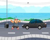 Сумасшедший дорожный бегун
