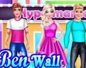 Раскраска стен с Беном
