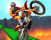 Невероятные гонки на мотоциклах