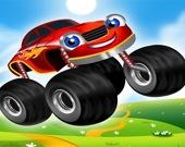 Машинки с мега-колесами