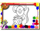 Раскраска: Детские мультики