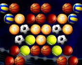 Стрелок по пузырям: Золотой футбольный мяч