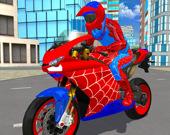 Человек-паук 2: Симулятор трюков на мотоцикле 3D