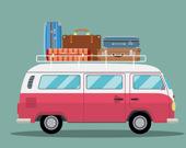 Три в ряд: Большие грузовики с багажом
